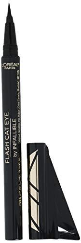 L'Oreal Paris Makeup Infallible Flash Cat Eye Waterproof Liquid Eyeliner, Black