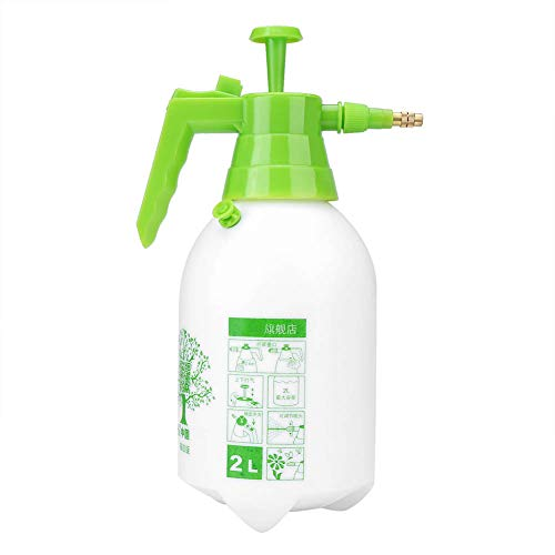 Spruzzatore da giardino, 2L manuale sotto pressione spruzzatore di acqua per lavori di giardinaggio, lo spray supplementare con manico ergonomico protegge