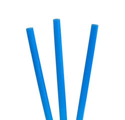 tib 10052 Cocktail-Strohhalme 240 Stück pro Beutel, Farbe Blau, One Size