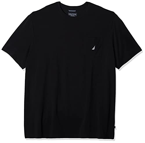 Nautica V41050 Camiseta, Negro (True Black), Medium (Tamaño del Fabricante:M) para Hombre