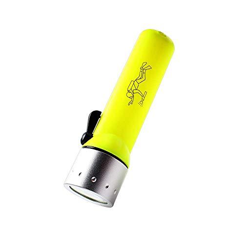 LED Linterna de Buceo,Linterna de Iluminación,Impermeable, Interruptor Magnético, Adecuado para Pesca Nocturna, Buceo, Ciclismo de Noche, Senderismo de Noche, Exploración al Aire Libre ⭐