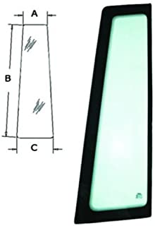 All States Ag Parts Cab Glass - Door Front LH Case 580L 570LXT 590 580 Super L 580K 570MXT 580SK R52879