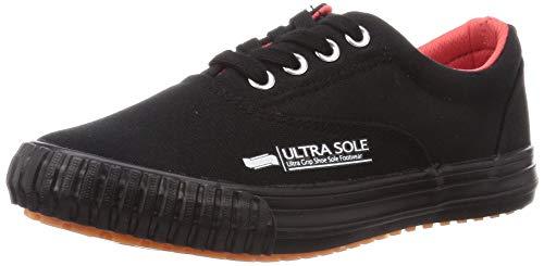 [マルゴ] 作業靴 紐付きスリッポン 撥水加工 耐滑 ウルトラソール 70 ブラック 26 cm 3E