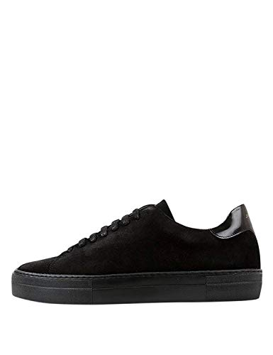Jim Rickey Men's Pulp Sneakers Suede Black in Size 45