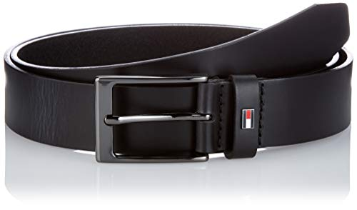 Tommy Hilfiger Layton 3.5 Cintura, Nero, 100 cm Uomo