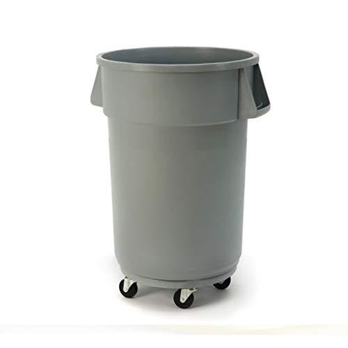 Papeleras Cubo de Almacenamiento con Tapa Gran Capacidad Plástico Bote de Basura Industrial Restaurante Cocina Residuos Transporte acuático Barril Cubos de Basura de Cocina (Capacity : 120L)