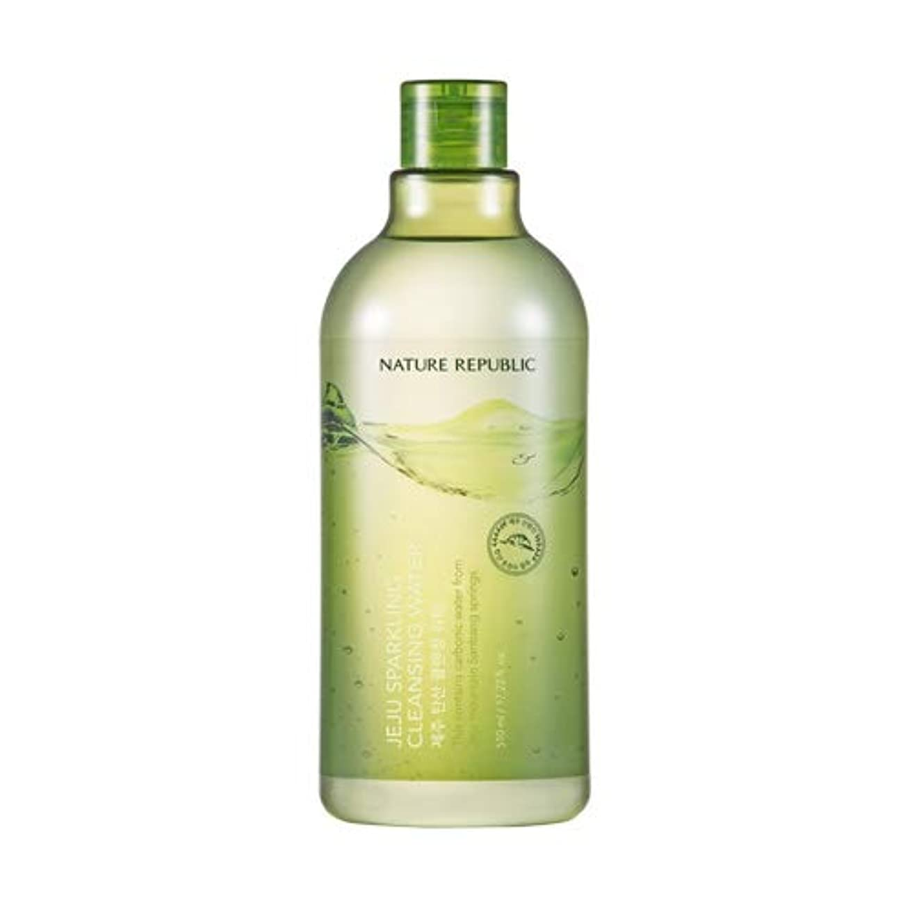 トランジスタソーシャル同種のNature republic Jeju Sparkling(Carbonic) Cleansing Water ネイチャーリパブリック済州炭酸クレンジングウォーター 510ml [並行輸入品]