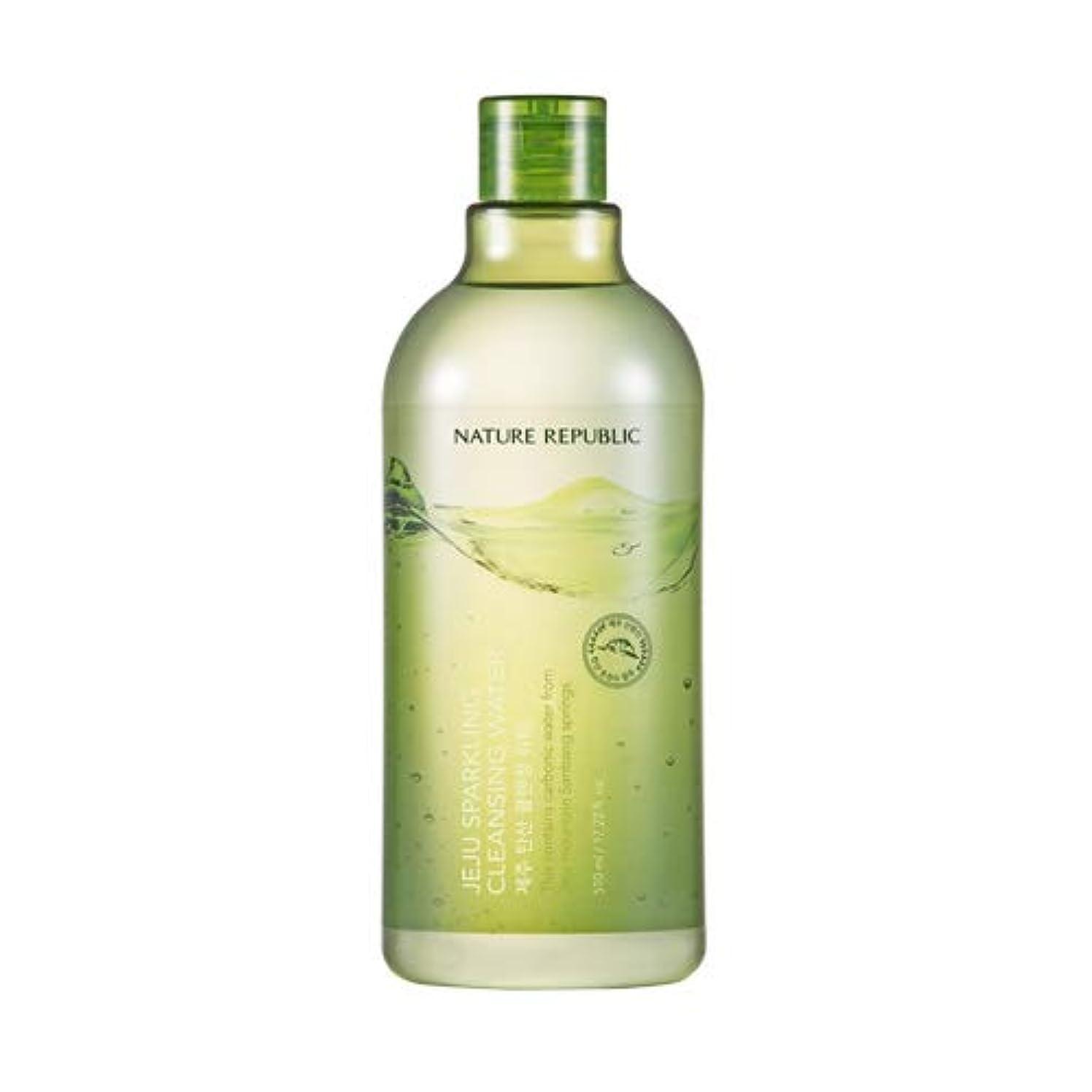 途方もない留め金扱いやすいNature republic Jeju Sparkling(Carbonic) Cleansing Water ネイチャーリパブリック済州炭酸クレンジングウォーター 510ml [並行輸入品]