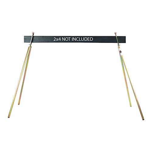 Steel Target Stand for AR500 Targets and Gongs - Folding Metal Legs for Easy Transport