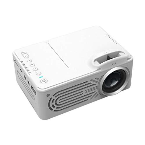 Viesky Mini-HD-tragbare LED-Heim-Multimedia-Projektor-Unterstützung 80-Zoll-Großbild