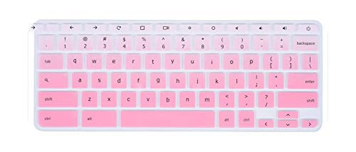 For Acer Chromebook R11 Cb3-131 Cb5-132T Cb3 131 132 / Laptop Keyboard Cover Skin Silicone For Acer Chromebook R13 Cb5-312 Cb5-fadepink-