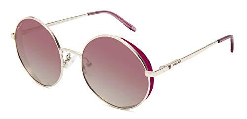 Polar Beverly - Gafas de sol polarizadas unisex, color dorado y rosa
