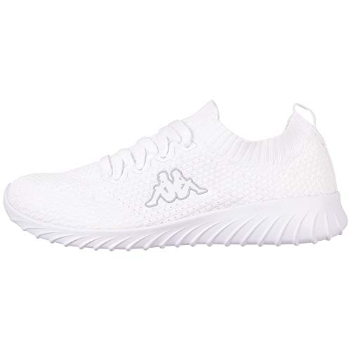 Kappa Unisex-Erwachsene SNEEM Sneaker, Weiß (White 1010, 39