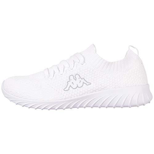 Kappa Unisex-Erwachsene SNEEM Sneaker, Weiß (White 1010, 43 EU, 43
