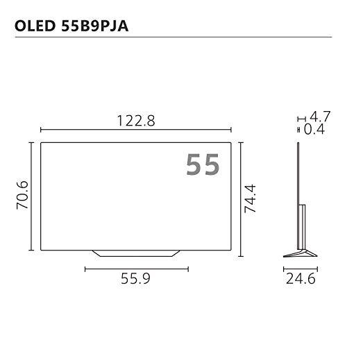LG55V型4Kチューナー内蔵有機ELテレビAlexa搭載ドルビーアトモス対応TVOLED55B9PJA2019年モデル