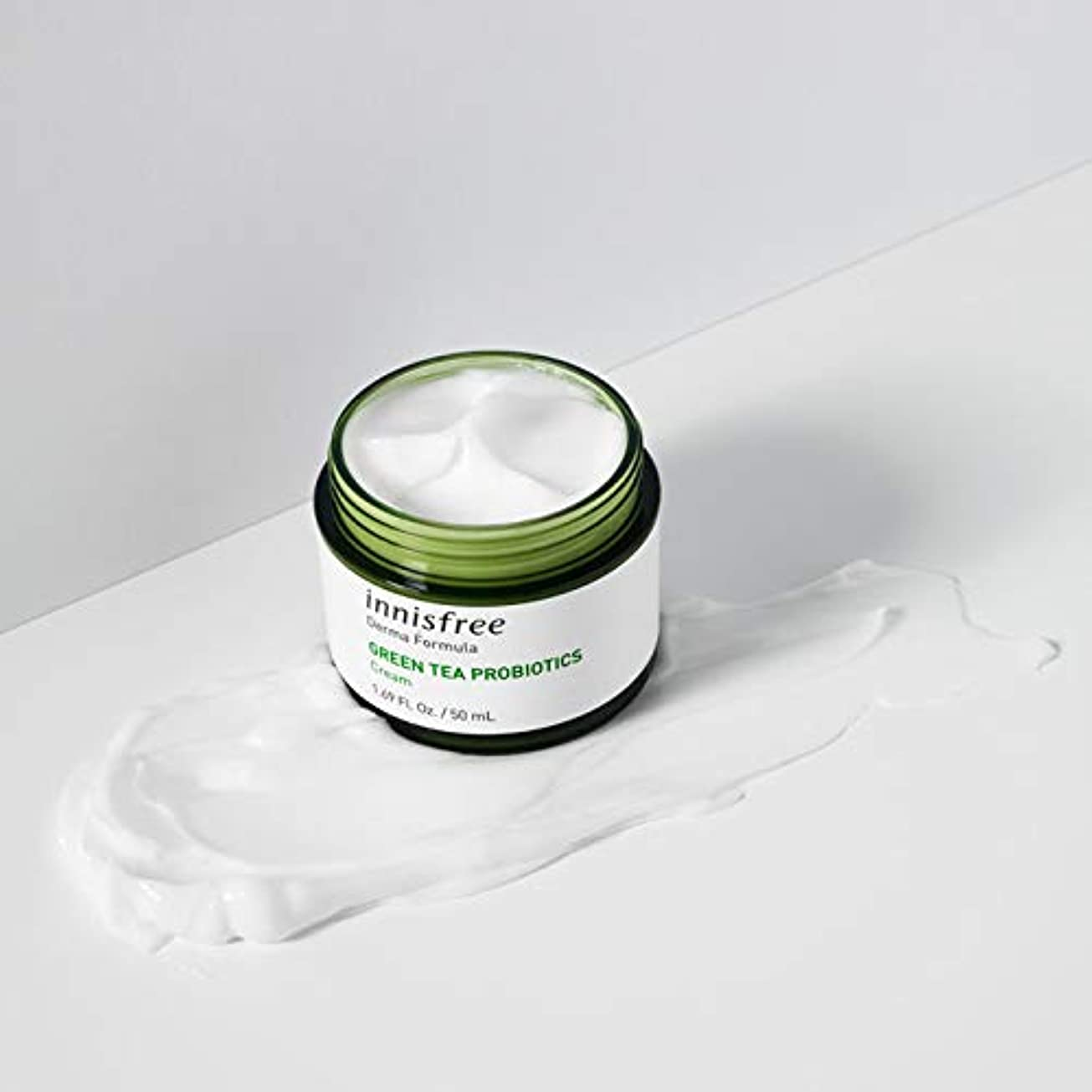 敬意おかしい歩き回る[イニスフリー.innisfree]ダーマフォーミュラグリーンティープロバイオティクスクリーム50mL(2019.09 new)/ Derma Formula Green Tea Probiotics Cream