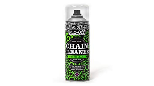 Muc Off MUC950 Chain Cleaner 400 Millilitres Water Soluble Biodegradable Bike Chain Cleaner Spray Suitable For All Bicycle Chains