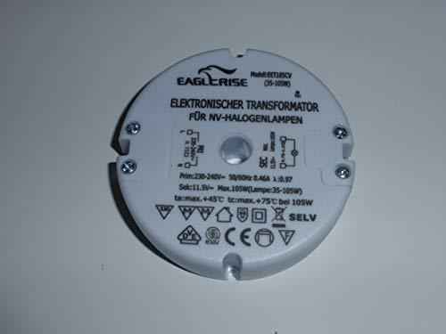 12V 120W HuaTec Eaglerise Transformador LED 12V 24V 6W 9W 30W 60W 120W Tensi/ón Constante Sin Parpadeo Flickerfree para Tira LED Alimentador Fuente de Alimentaci/ón LED