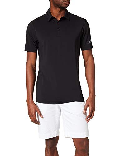 adidas Ultimate 367 Camisa de Golf, Negro, L para Hombre