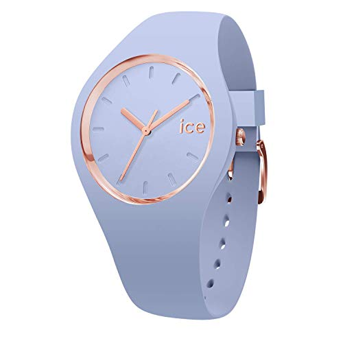 Ice-Watch - ICE glam colour Sky - Women's wristwatch with silicon strap - 015333 (Medium)