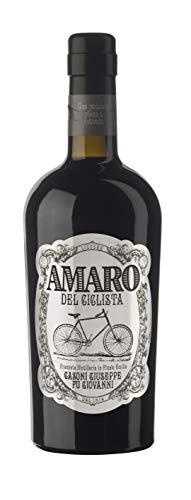 Amaro del Ciclista, Liquore ottenuto dalla distillazione più di 15 erbe dal gusto unico ed inimitabile. 70 cl, 26% VOL.