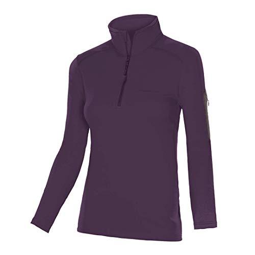 Trangoworld DRACH Pullover pour Femme, Grenat, XL