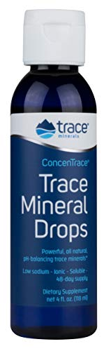 Trace Minerals Concentrace Trace Mineral Drops, 4 Fl Oz (Pack of 1)