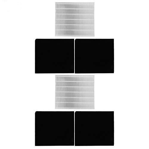 Luftreiniger Filter Luftfilter Aktivkohle Baumwolle Ersatzkit Passend für Coway AP1512hh 3304899