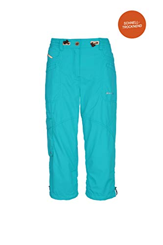 G.I.G.A DX Fenia Casual Caprihose Femme, Turquoise, FR : M (Taille Fabricant : 40)