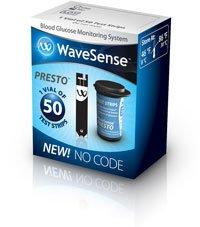 WaveSense Presto TestStrip 100 per Bx