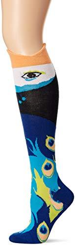 K. Bell Socks womens Leg Eater Novelty Casual Knee High Socks