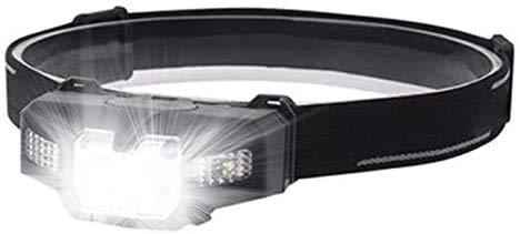 Linterna Frontal LED Slokey - 135 Lúmenes, hasta 25 Horas de Iluminación...