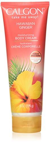 Calgon Shea-Enriched Body Cream (Hawaiian Ginger, 8-Ounce) by Calgon
