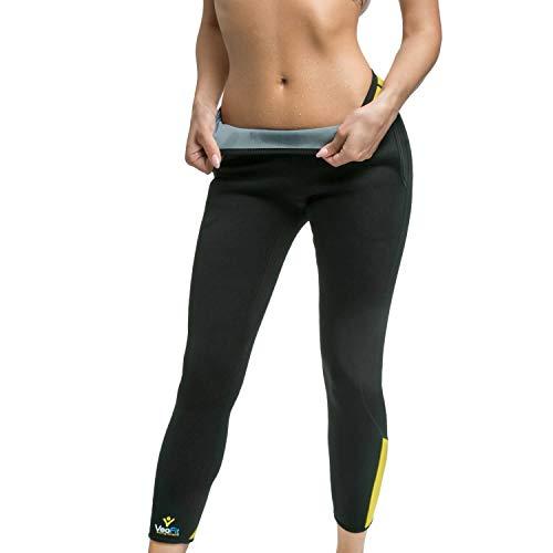 VeoFit Pantalón de Sudoración Adelgazante Talla S : Tonifica y Elimina el Exceso de Agua para una Piel más Tersa y una Figura más Estilizada. OFRECIDOS: Funda + Guía Fitness