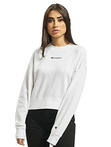 Champion Damen Sweatshirt weiß XS