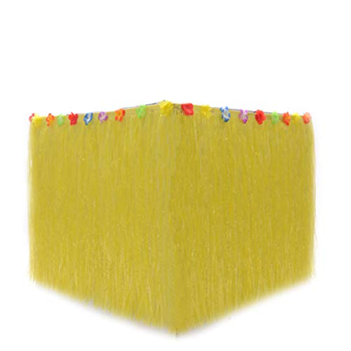 XIJUGE Hawaiian Tischrock Nach Hause Picknick Geburtstagsfeier Party Dekoration Lieferungen, Party Tischrock, Hawaiian Style Tischrock, Für Tropische Thema Geburtstagsfeier,E,580cm*75cm