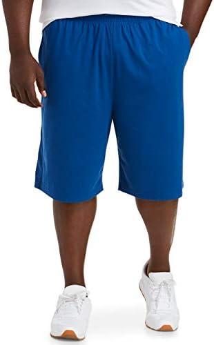 Amazon Essentials Men s Big Tall Big Tall Performance Cotton Short fit by DXL True Blue 3XL product image