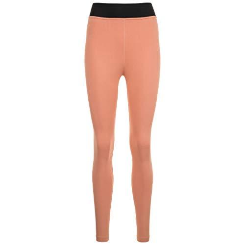 Nike W NSW Legasee Lggng HW Futura – Pantaloni Sportivi da Donna, Donna, BQ9771, Oro Rosa/Bianco, L