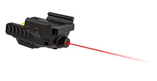 TRUGLO Sight-Line Handgun Laser Sight for Picatinny, Weaver, or Pistol Rail Mount, Red Laser