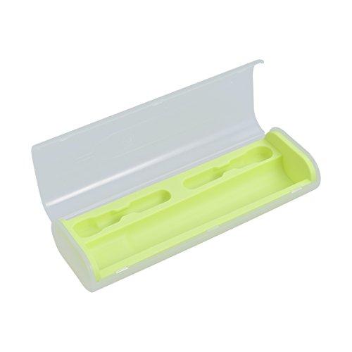 DOITOOL - Portaspazzolino da viaggio universale per spazzolino elettrico da viaggio, campeggio, portatile, colore: Verde