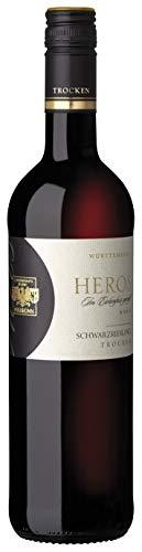 Württemberger Wein HEROS Schwarzriesling QW trocken - Im Holzfass gereift - (1 x 0.75 l)