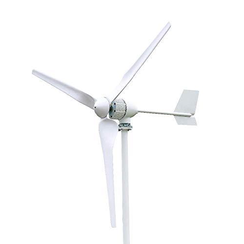 FLTXNY POWER 2000W 24V Turbina Eólica Generador de Viento de 3 Palas 2KW Aerogeneradores Horizontal Alta Eficiencia Para Uso Doméstico