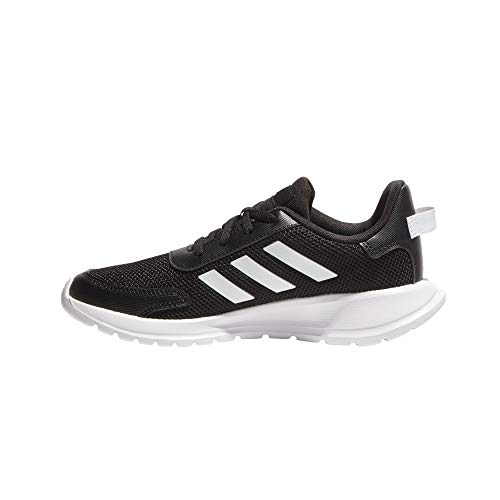 adidas Tensaur Run K, Zapatillas para Correr Unisex niños, Core Black/FTWR White/Core Black, 34 EU
