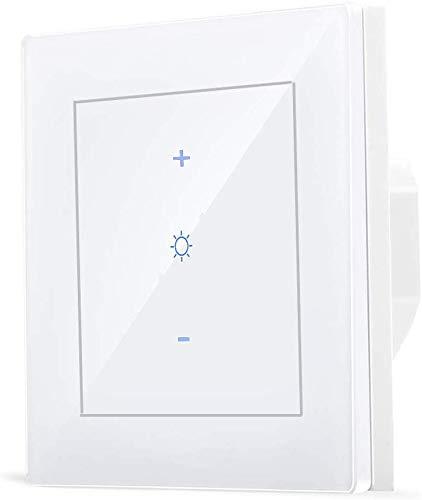 Interruttore ZigBee Smart Light Dimmer per bridge Echo Plus Hue e Home Automation Compatibile con hub Zigbee e controllo vocale Alexa