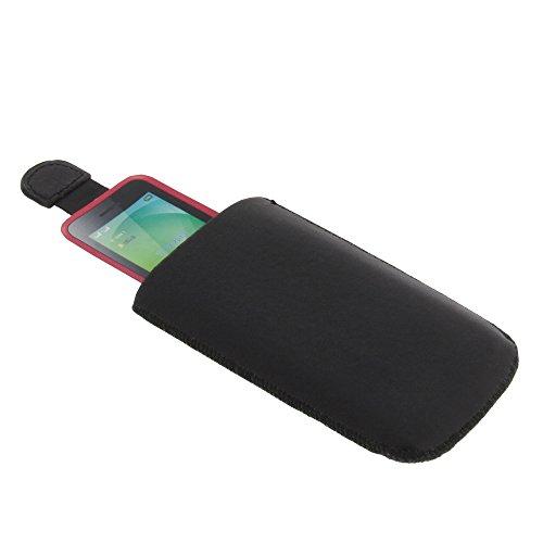 Tasche für Wiko Lubi 3 Etui Schutz Hülle Handytasche schwarz
