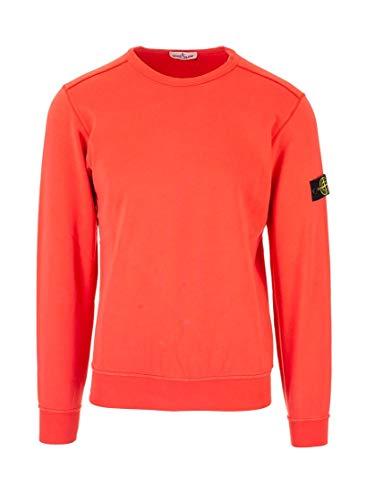 Stone Island Luxury Fashion Junge 721661040V0036 Orange Baumwolle Sweatshirt | Frühling Sommer 20