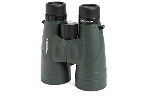 Celestron 71336 Nature DX 12x56 BaK-4 Prism Binoculars, Green