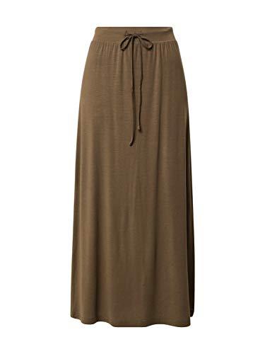 Vero Moda Vmava NW Ancle Skirt Ga Noos Falda, Cuerda Elástica, XS para Mujer