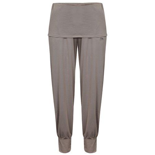 Li Ning - Pantaloni da Donna per Il Tempo Libero A616, Grigio (Mittelgrau), S