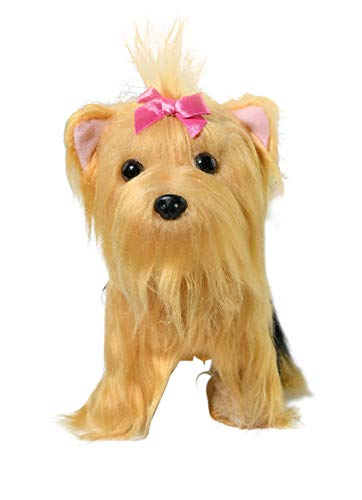 Home-X Yorkie Terrier, Electric Dog Toys, Interactive Pets, Stuffed Animals